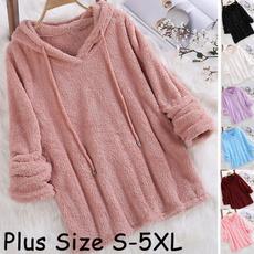 Fleece, Casual Hoodie, pullover hoodie, Sleeve