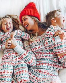 cute, Fashion, Winter, Family