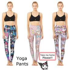 cute, fashion women, Yoga, skinny pants