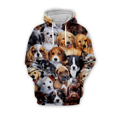 3D hoodies, Fashion, Animal, Pets