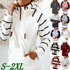 hoodedtop, Women Blouse, Long Sleeve, womens top
