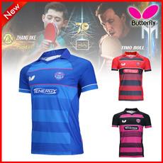 butterfly, tennistshirt, lapeltshirt, Shirt