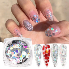 butterfly, nail decoration, art, Love