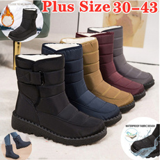 ankle boots, casual shoes, Winter, Waterproof