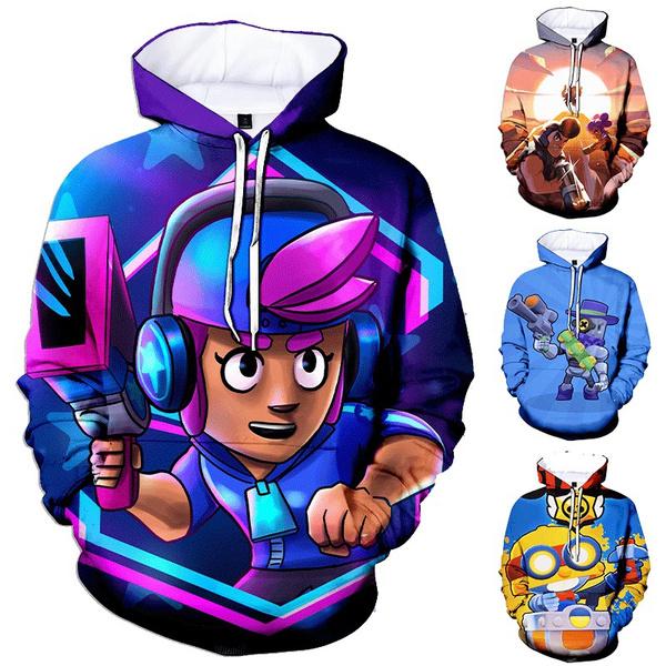 Funny, Fashion, Sleeve, fashionfightingstar3dprintedsweatshirt