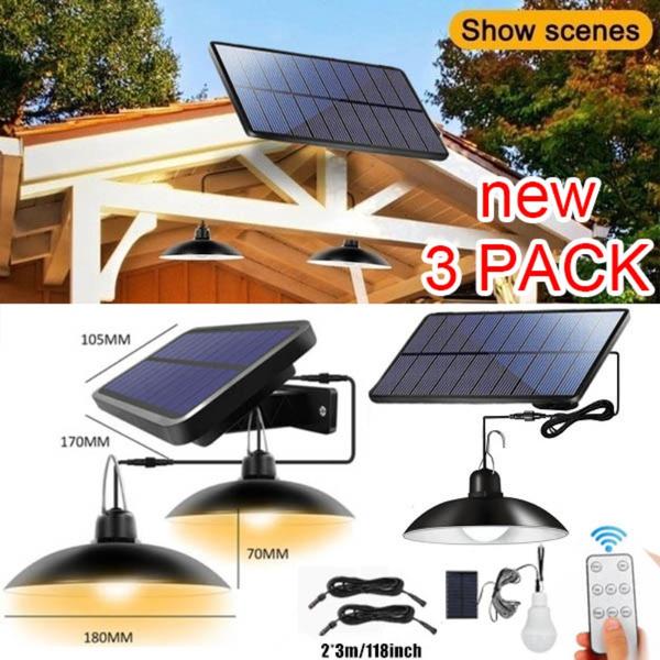 solarwalllamp, lawnlighting, Outdoor, Remote Controls