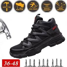 safetyshoe, hikingboot, black, Shoes