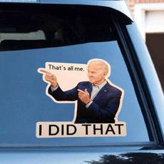 Car Sticker, Waterproof, Cars, politicalcampaign
