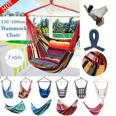Outdoor, Garden, hammocksswing, hangingropechair