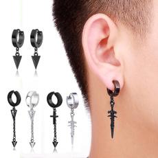 Mens Earrings, Earring, Hip Hop, punk earring