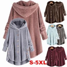 Plus Size, Women Jacket, Women's Fashion, hooded