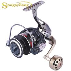 spinningreel, fishingrodreel, Bass, Sports & Outdoors