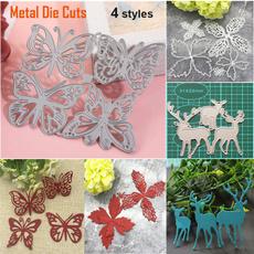 butterfly, leavesmetaldiecutting, Flowers, embossingstamp
