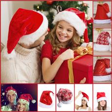 holidayhat, Fashion, festivedres, plushchristmashat