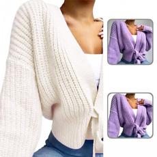 Women Sweater, sweatercardigan, solidcolorsweater, Casual sweater
