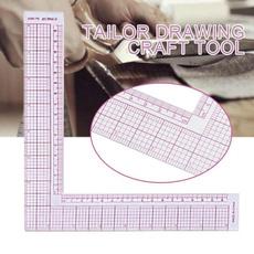 sewingruler, sewingtool, angleruler, ruler