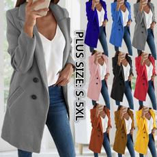 casual coat, Outdoor, Blazer, Long Coat