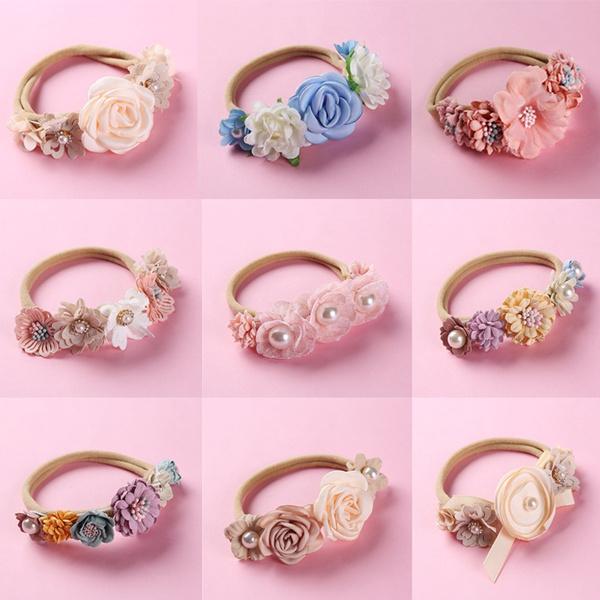 Kawaii, cute, babyheaddre, Flowers