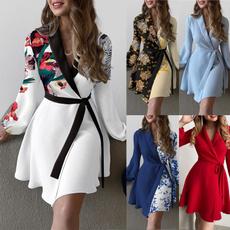 work dress, Fashion, Office, Long Sleeve