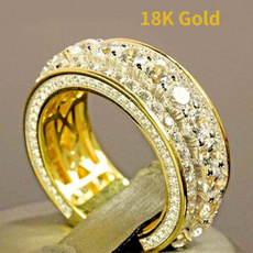 Couple Rings, DIAMOND, Jewelry, gold