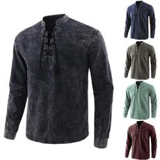 vintageshirt, Fashion, Tops & Blouses, standupcollar