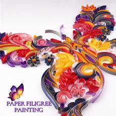 Decorative, album, stencil, butterfly