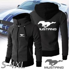 Outdoor, mustanghoodie, hoodedjacket, zipperjacket