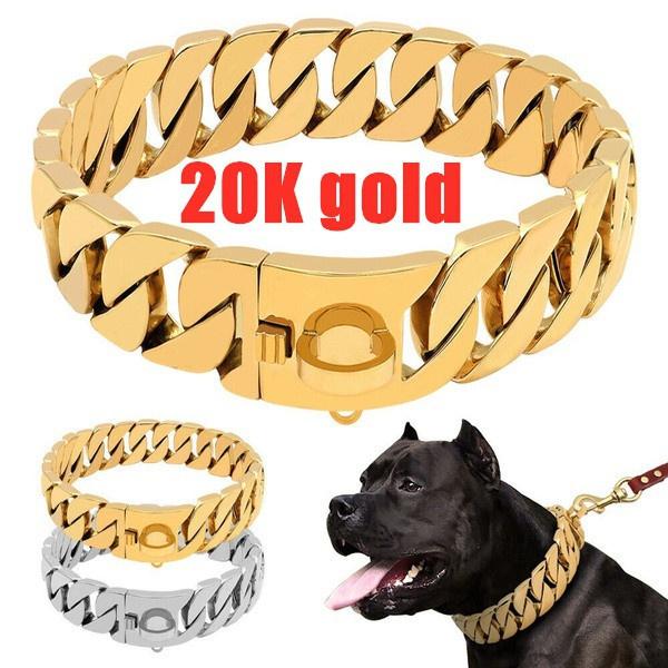 Heavy, Steel, Medium, Dog Collar