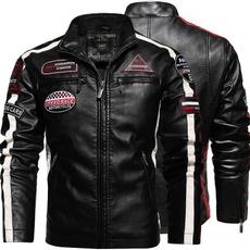 motorcyclejacket, Fashion, washedleatherjacket, Winter