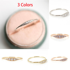 Couple Rings, tailring, crystal ring, wedding ring