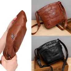 Shoulder Bags, Zip, Casual bag, fashion bags for women