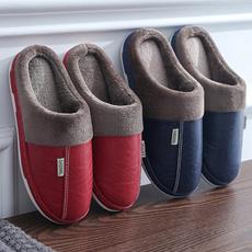 Waterproof, fluffy, Indoor, Indoor Slippers