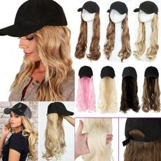 Baseball Hat, wig, Мода, wigsforwomen