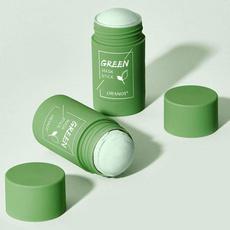 Green Tea, cleansingmudmask, Masks, oilcontrol