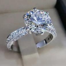 weddingringwomen, Sterling, DIAMOND, 925 sterling silver