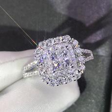 DIAMOND, wedding ring, Crystal Jewelry, Rhinestone