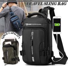 Shoulder Bags, Fashion, multifunctionalbag, usb