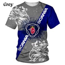 Mens T Shirt, Fashion, carlogotshirt, scania