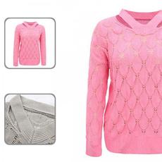 knitted, Women Sweater, Winter, Sweaters