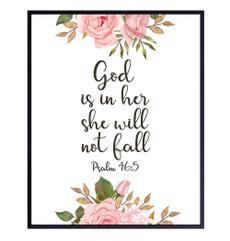 Decor, psalm46, Gifts, upliftinggiftforreligiouswomen