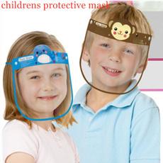 transparentsplashproofmask, childrensfacemask, antidust, faceshield