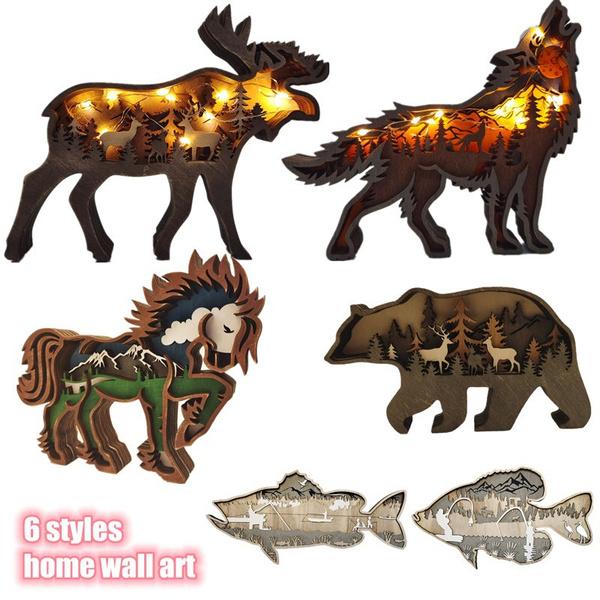elk, horse, Wall Art, walldecoration
