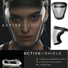 transparentmask, splashmask, eye, shield