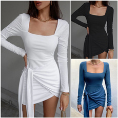 Fashion, irregulardres, Necks, Sleeve