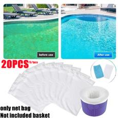 poolskimmersock, reusablefilter, Elastic, Storage
