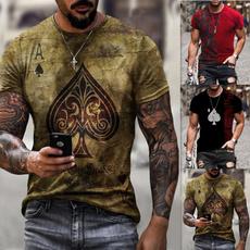 Summer, Short Sleeve T-Shirt, Graphic T-Shirt, Sleeve