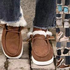 ankle boots, cottonshoe, Plus Size, Fashion