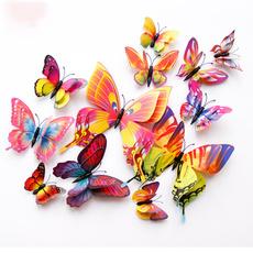 butterfly, Magnet, Decor, art