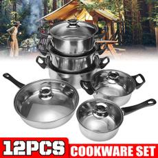 Steel, Kitchen & Dining, Cooking, nonstickcookware