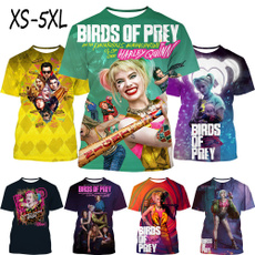 mensummertshirt, harleyquinntshirt, harleyquinnprintedtshirt, Fashion